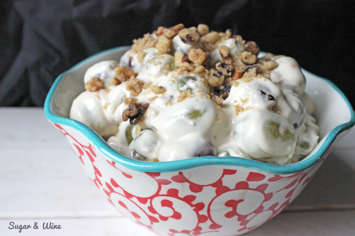 Stunning It Is So Grape Salad Ever Sugar Wine Grape Salad Yogurt Grape Salad Pretzels Cream Cheese This Grape Salad Is Seriously Recipe Not Saying I Used To Make This Recipe All Cream Cheese nice food Grape Salad With Cream Cheese