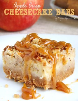 Small Of Apple Pie Cheesecake