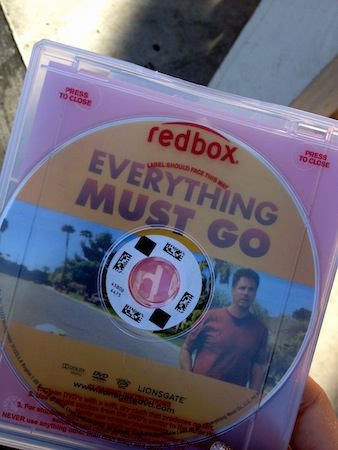 everything must go will ferrell red box