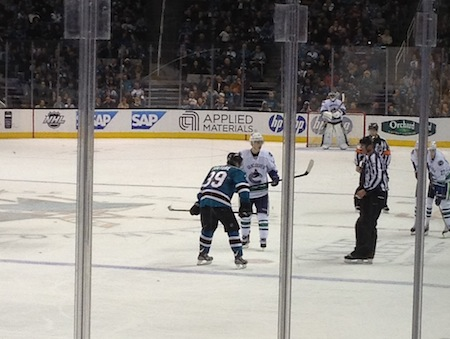 san jose sharks vs vancouver canucks 1