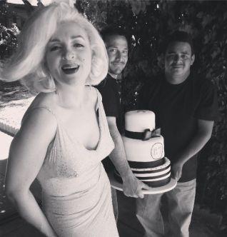 birthday cake for hugh hefner