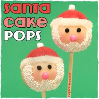 Santa Christmas Cake Pops | Step-by-Step Tutorial
