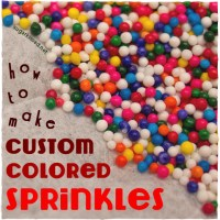 How To Tint Your Own Custom-Colored Sprinkles