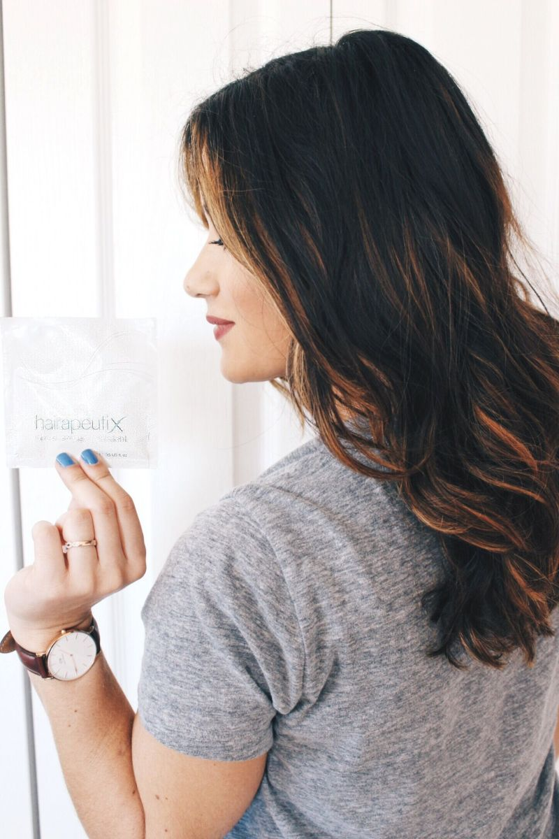 Hair Routine: Featuring Hairapeutix