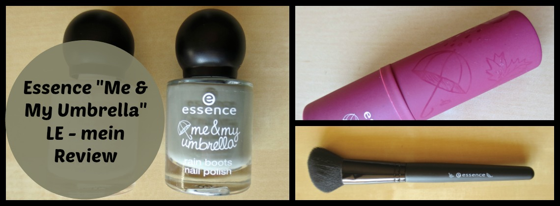 Essence me and my umbrella LE – mein Review