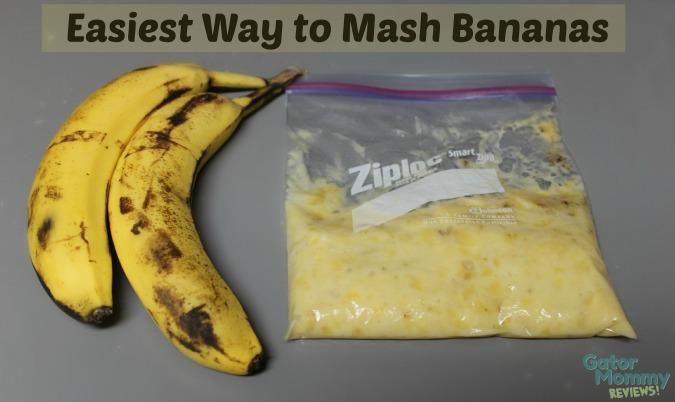Easiest Way to Mash Bananas