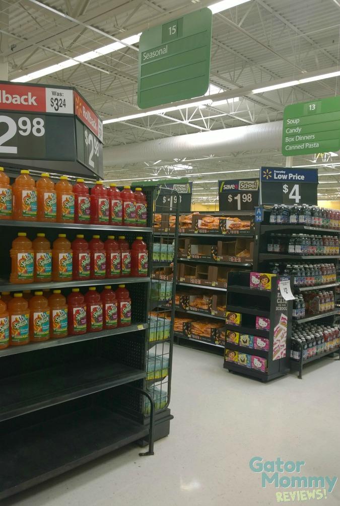Seasonal Candy Aisle at Walmart
