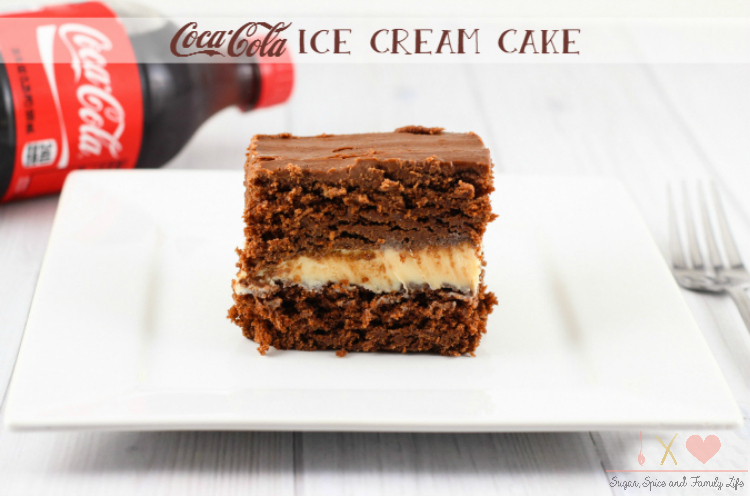 Coca-Cola Ice Cream Cake