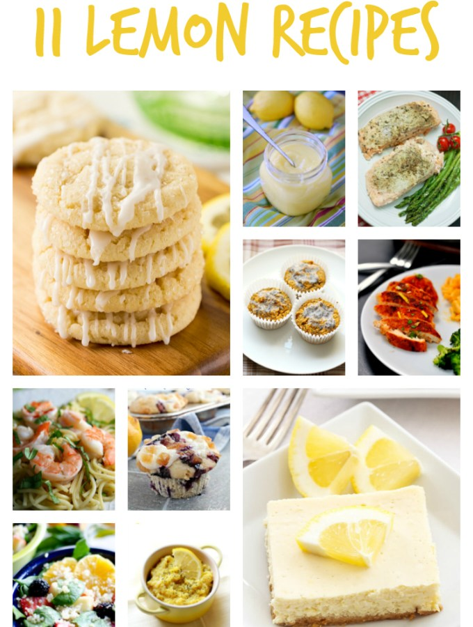 11 Lemon Recipes