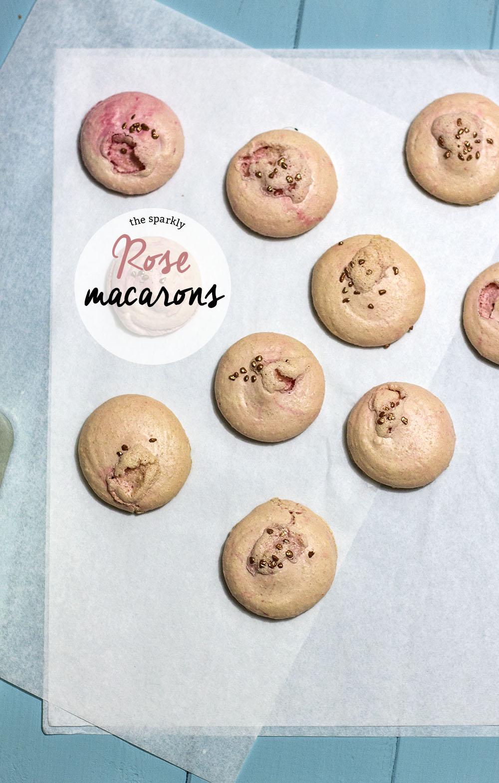 rose macaroons recipe