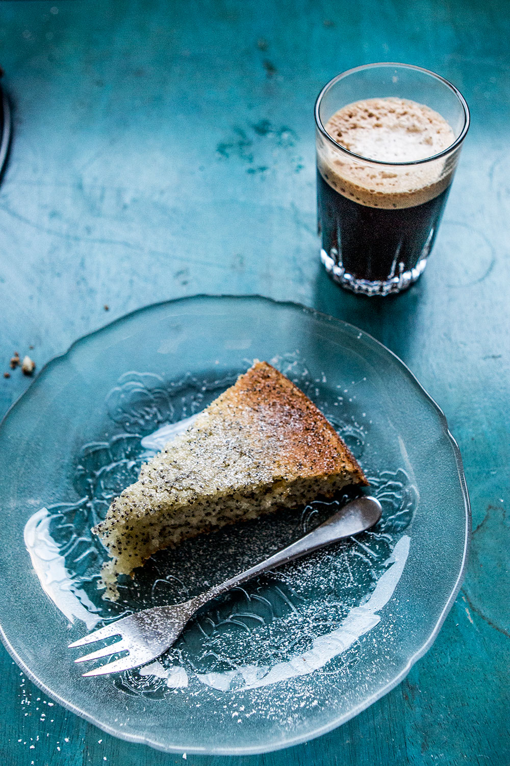 Lemon Drizzle Cake With Poppy Seed Recipe