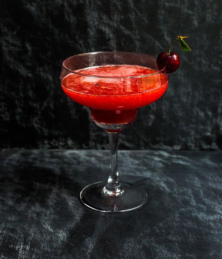 My Watermelon & Sour Cherry Cocktail
