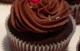 Belgian Chocolate Cupcake