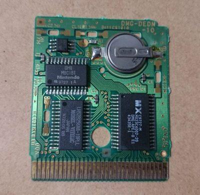 GBカートリッジのバッテリー交換方法