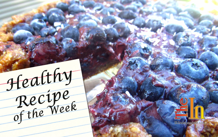 vegan Raw Blueberry Pie recipe