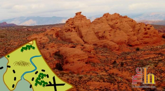 Hiking Southern Utah Church Rocks