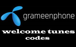 How to set and change welcome tune in Grameenphone