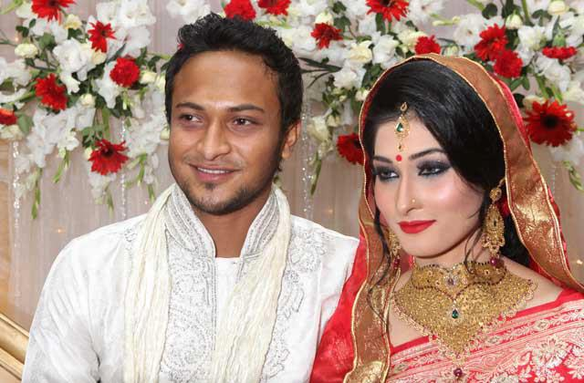 Shakib Al Hasan and ShiShir Wedding Photo