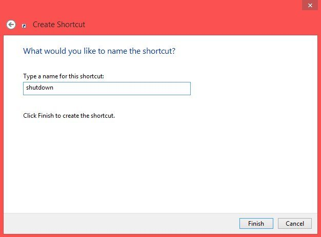 Shutdown or restart windows 8 quickly by shortcut