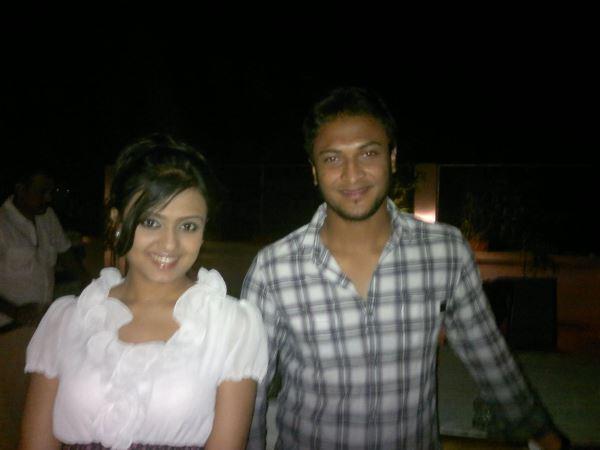 DJ Sonica and Shakib Al Hasan