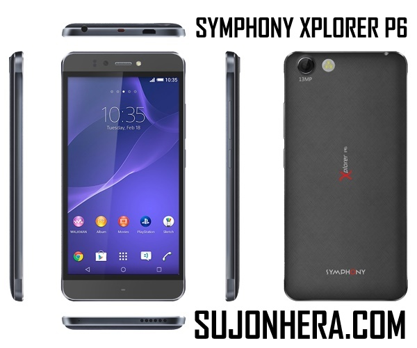 Symphony Xplorer P6 Full Phone Specifications & Price