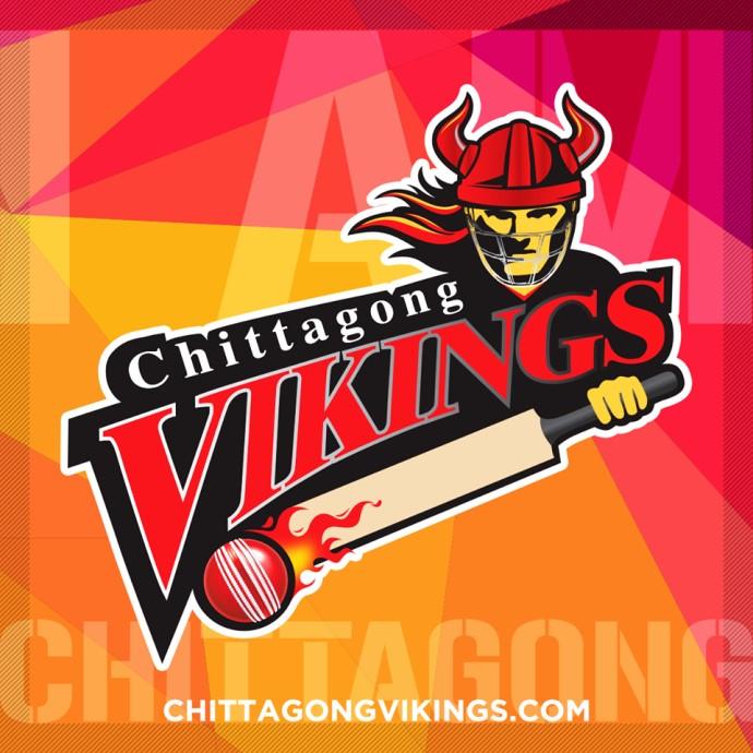 Chittagong Vikings Logo for BPL T20 2016