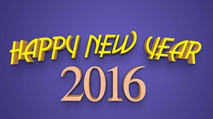 Happy New Year 2016 & Merry Christmas New HD Wallpapers