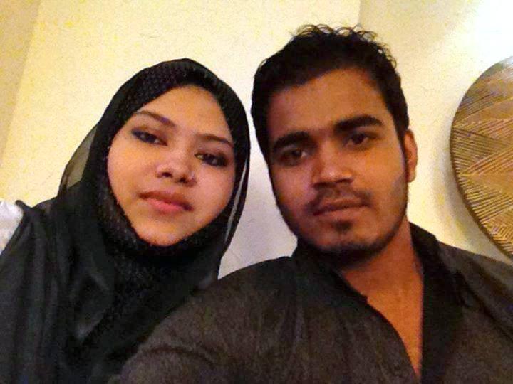 Shamsur Rahman Shuvo Bangladeshi Cricketer with his wife