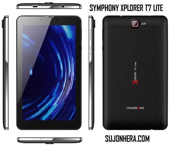 Symphony Xplorer T7 Lite Tab Full Specifications & Price