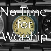 The Problem with Short Worship Services in the Church