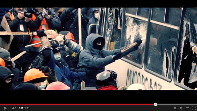 violence in ukraine vid