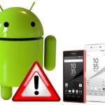 Xperia Z5シリーズのAndroid 7.0アプデは要注意!バッテリー異常消費などの不具合まとめ
