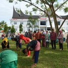 HUT Pemkab Dharmasraya Gelar Festival Randai
