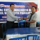 Pilkada Kota Pariaman Azwin Amir Serahkan Formulir Pendaftaran  ke Hanura dan PAN