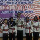 Atlet Merpati Putih Kolat Semen Padang Raih Dua Emas di Medan