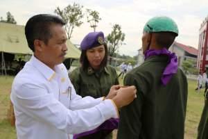 WR3 UNP Tutup Dikbasis Menwa  Batalyon 102 MB UNP 2018
