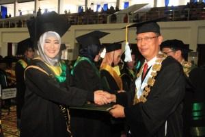 Nasehat Rektor Unand Untuk Wisudawan I Tahun 2018