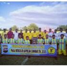 Kapolda Sumbar Tabuh Turnamen Sepakbola Rajawali