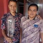 Dispora Padang Ganti Lampu Stadion H Agus Salim