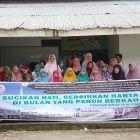 FKIK-SP Berbagi Pabukoan dan Mukena untuk Masjid dan Panti Asuhan di Kota Padang