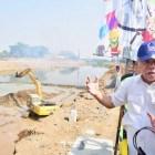 Bendung Tirtonadi Solo : Musim Hujan Untuk Pengendalian Banjir, Musim Kemarau Tampung Air 1 juta m3