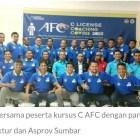 Penyelenggaraan Kursus Pelatih Lisensi C AFC Khitmad dan Sukses