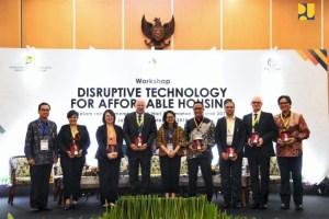 Kementerian PUPR Dukung Disrupsi Teknologi Tingkatkan Pelayanan Sektor Perumahan