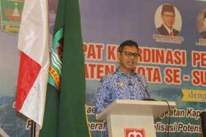 Gubernur Sumbar Pinta Camat Saling Lakukan Koordinasi