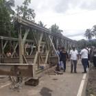 BPJN III Padang Menunggu Arahan Dirjen Bina Marga Untuk Pembangunan Jembatan Permanen di Kayu Tanam