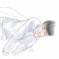 おやすみ羽生くんイラスト2