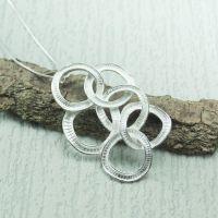 Silver Exi Pendant