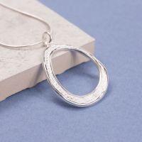 Sterling Silver Avgos Pendant