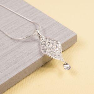 Silver Corona Pendant