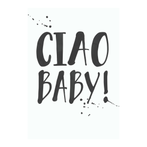 Ciao Baby! Printable Wall Art